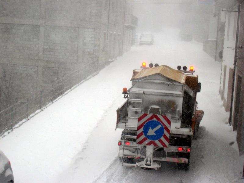 METEO IN MOLISE – Diffuso calo termico e neve a quote collinari