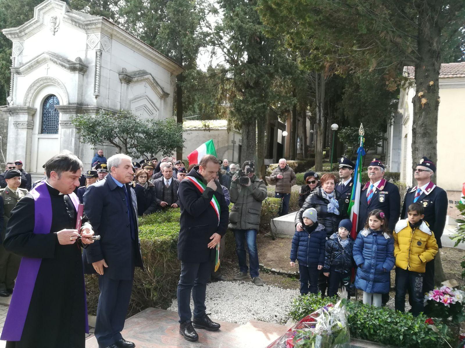 Guglionesi, cerimonia nel ricordo del sacrificio di Giulio Rivera