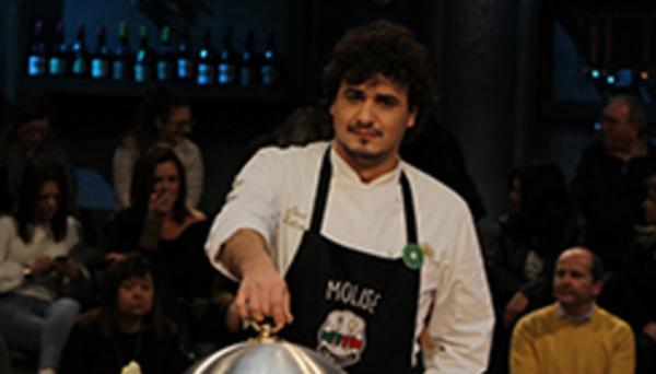"""'Cuochi d'Italia'. Il molisano Luca Felice non passa il turno: """"Torno a casa soddisfatto"""""""