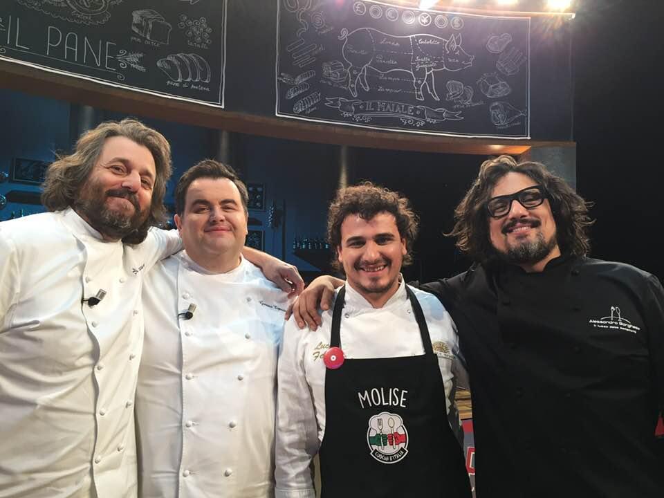 Cuochi d'Italia. Nuova sfida per Luca Felice, il cuoco molisano in onda questa sera su Tv8