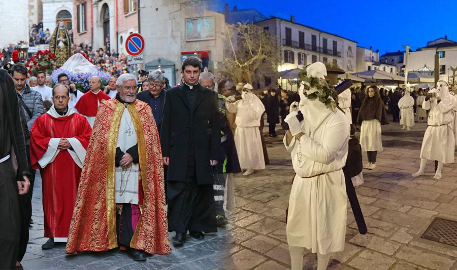 Processione 'Venerdì Santo'. In diretta sul sito foto e video da Campobasso e Isernia