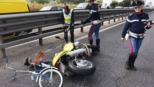 Incidenti con moto e bici, in Molise la più bassa densità