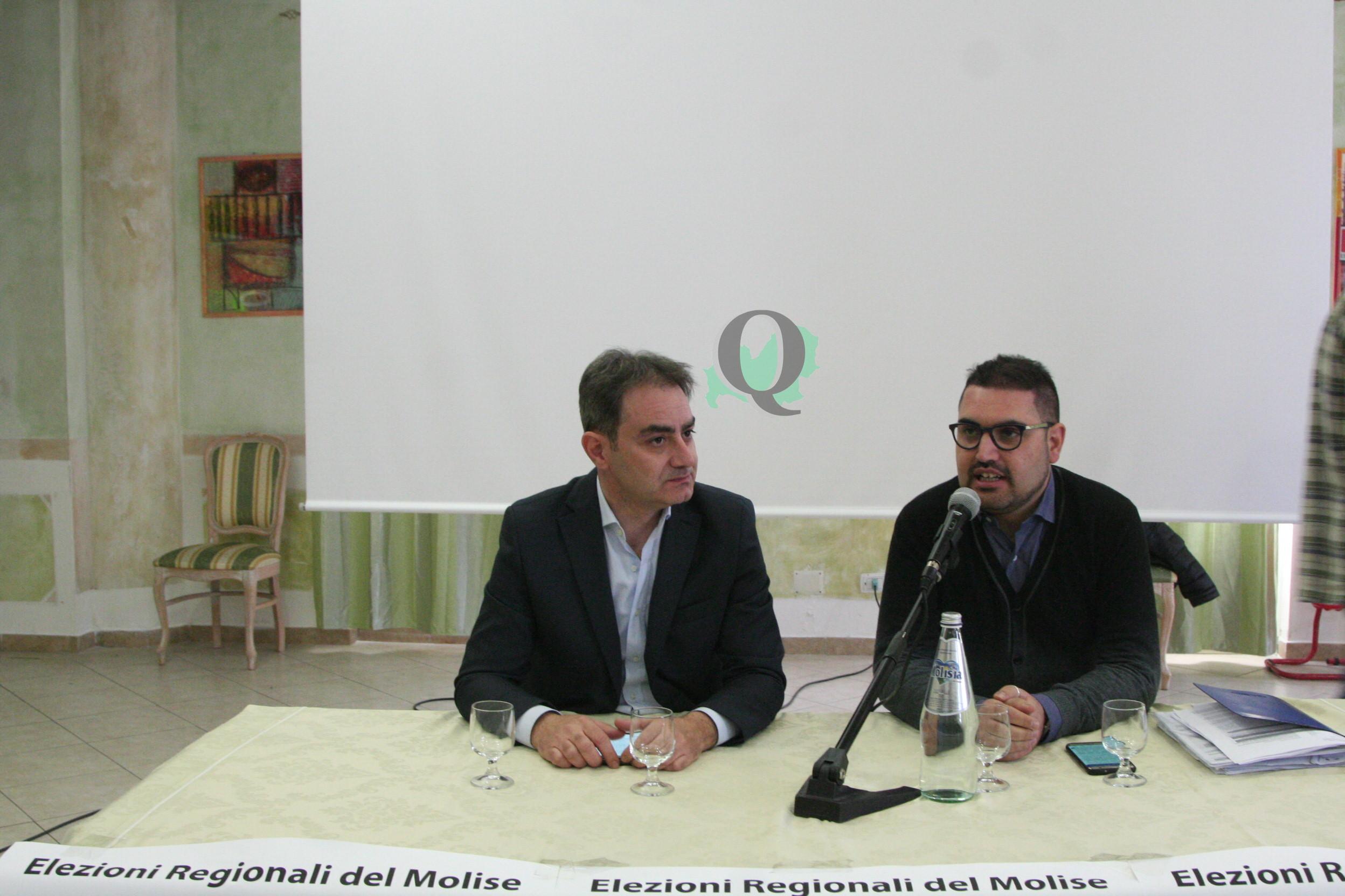 """Regionali. Presentata la lista 'Unione per il Molise': """"Con passione per un centrosinistra coeso"""""""