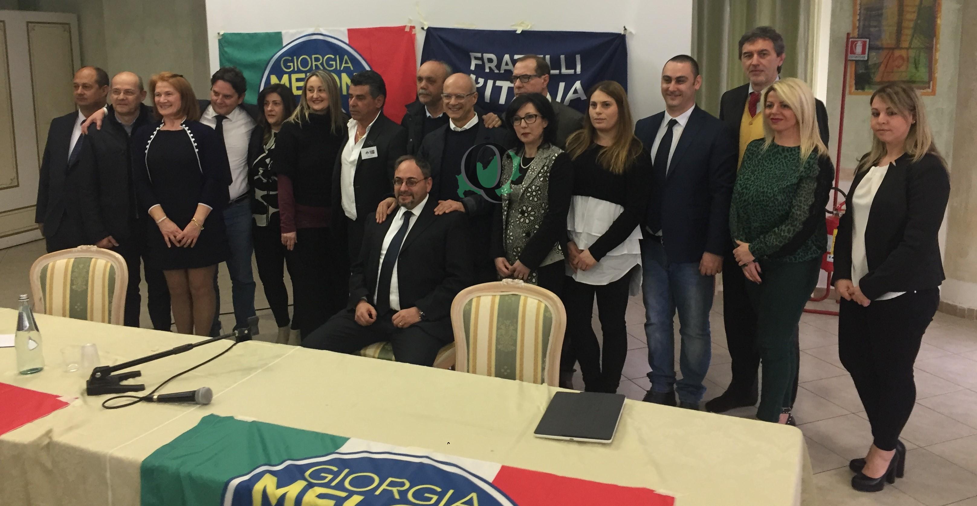 """Fratelli d'Italia si presenta: """"Il nostro contributo sarà fondamentale"""""""