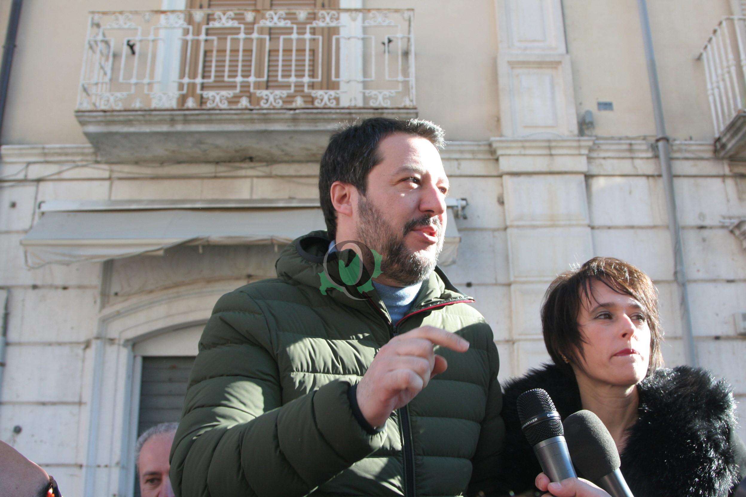 Matteo Salvini torna in Molise, lunedì in piazza a Termoli