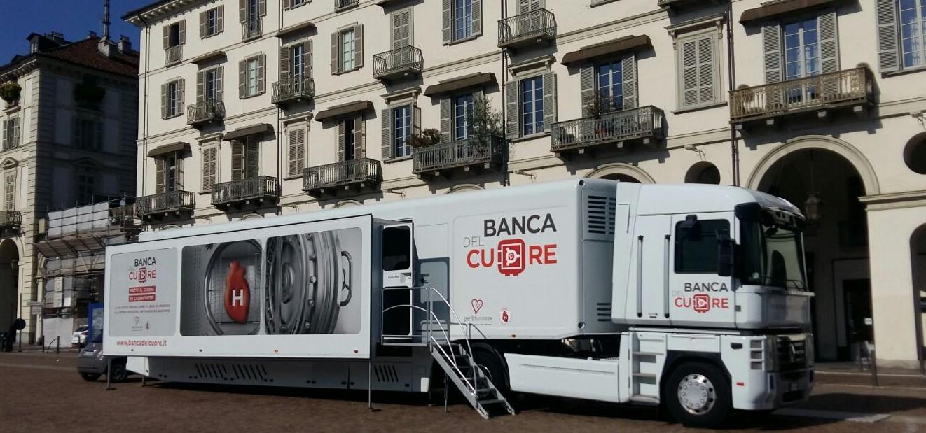 'La Banca del Cuore' fa tappa a Campobasso, screening cardiologici gratuiti fino a lunedì 16