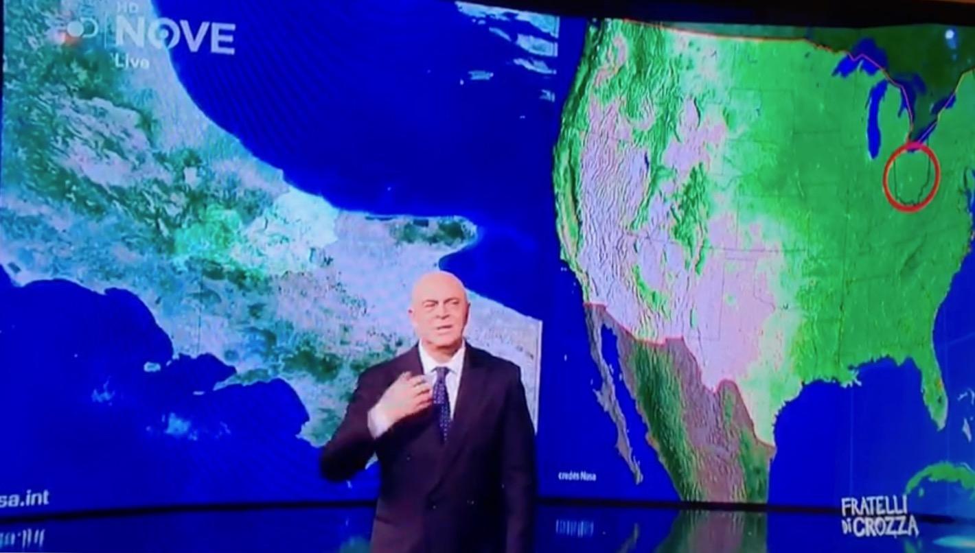 """Crozza: """"Il Molise è il nostro Ohio"""" (VIDEO)"""
