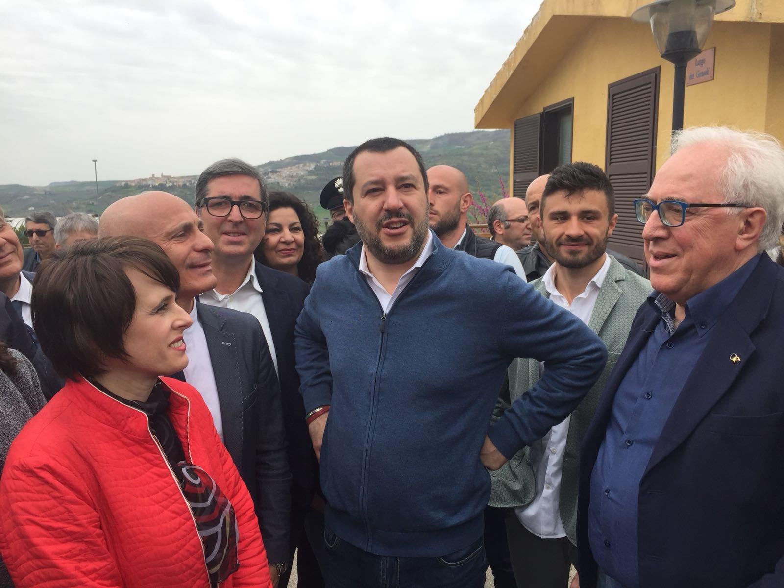 """Salvini: """"In Molise i risultati parlano chiaro, i 5 Stelle sono arrivati secondi"""""""