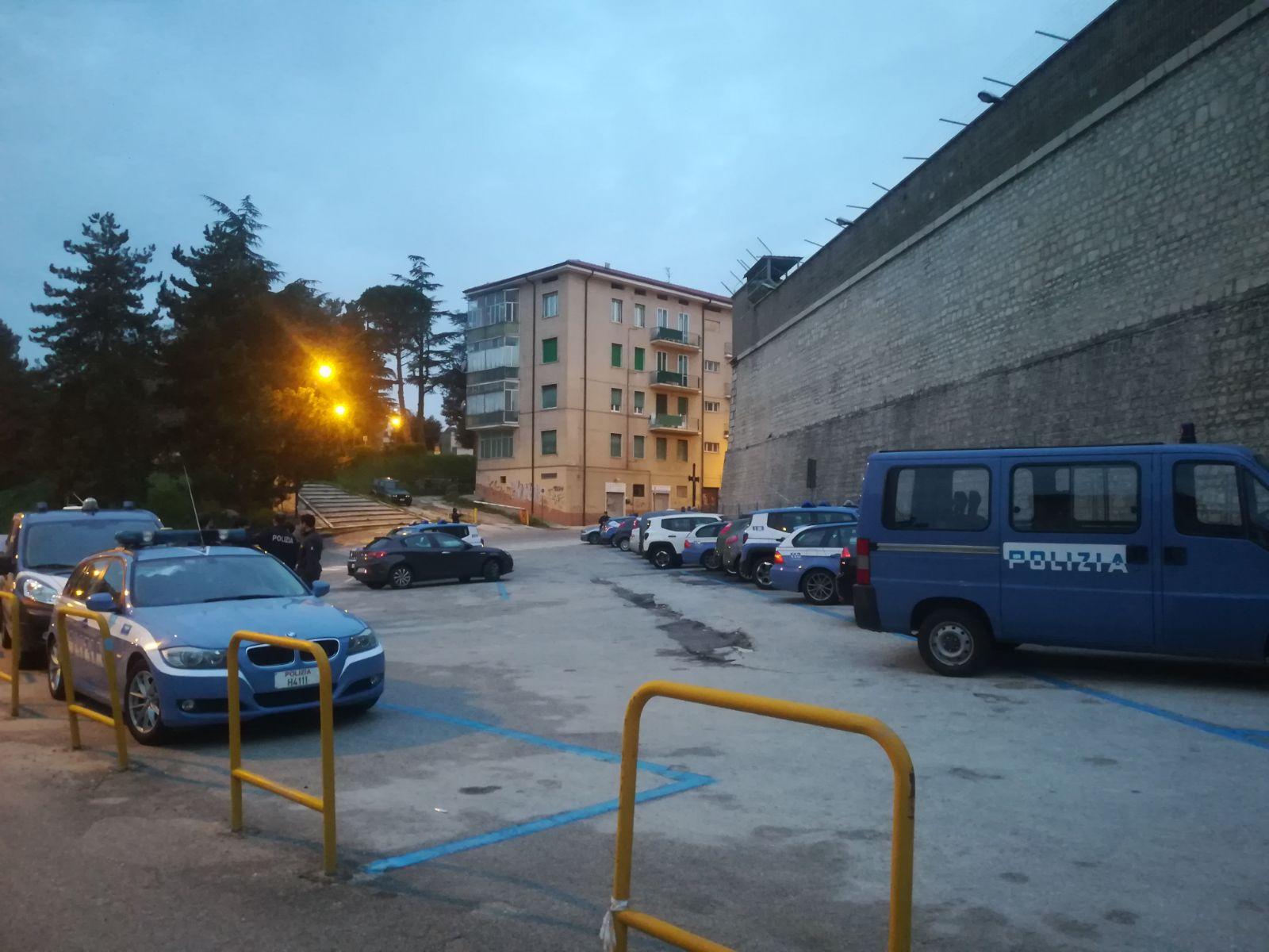 Campobasso, maxi-blitz in via Cavour