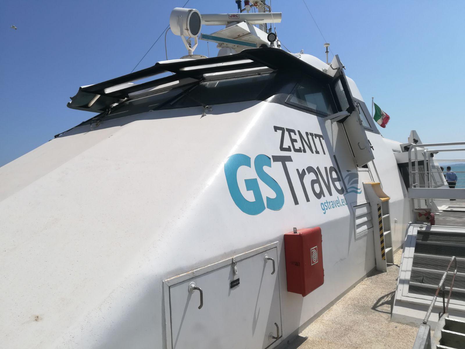 Lo Zenit viaggia con il vento a favore