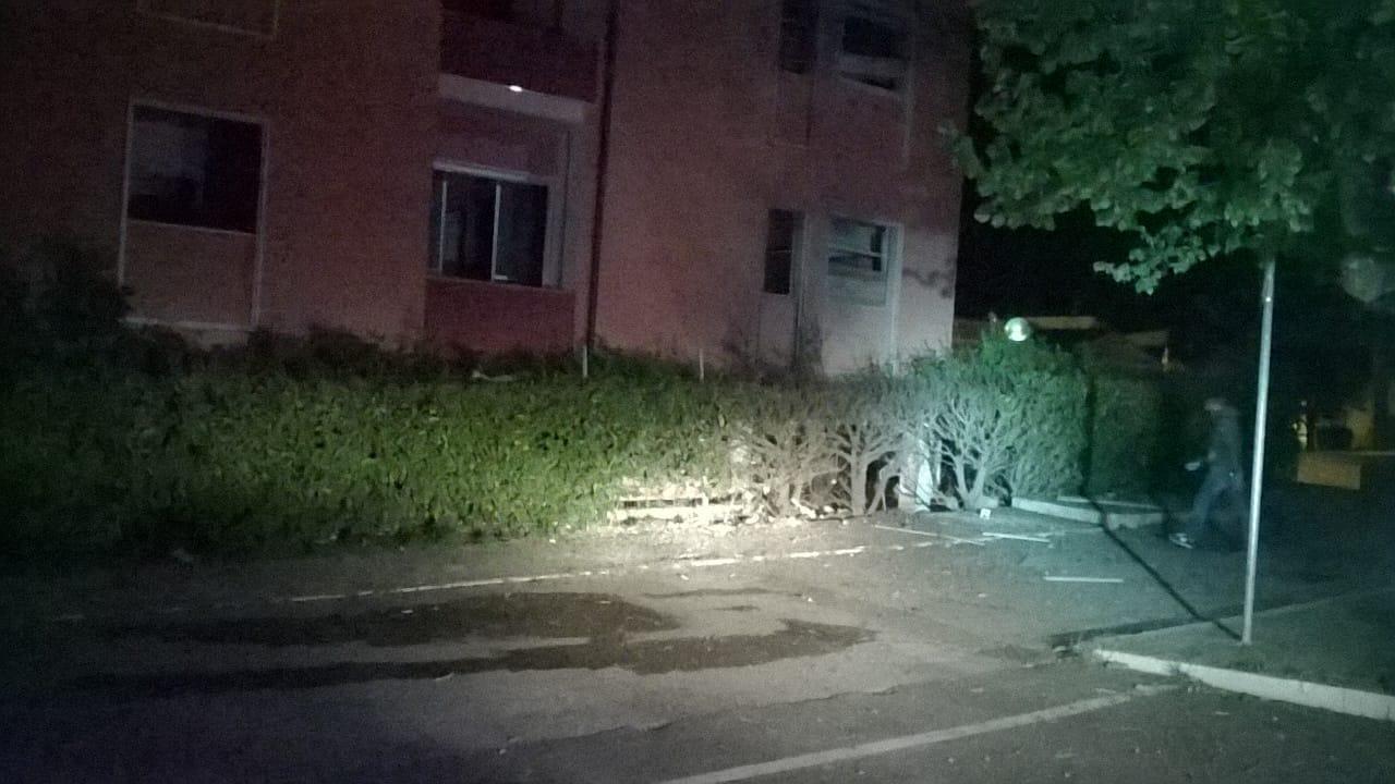 Esplosione nella notte davanti al Municipio di Santa Croce