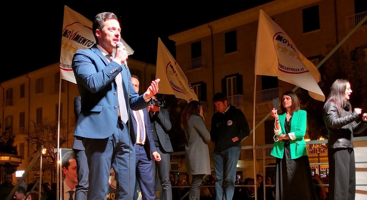 """M5S. Greco chiude in Piazza Municipio con i big nazionali: """"Un sogno realizzabile"""""""