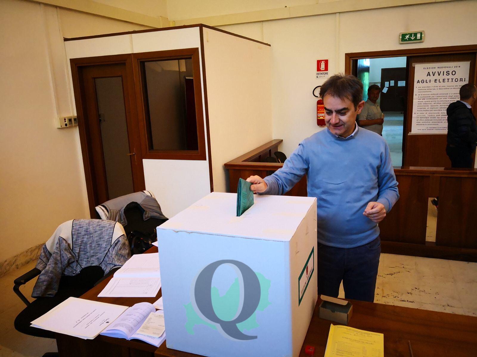 Elezioni Regionali 2018: il voto di Veneziale