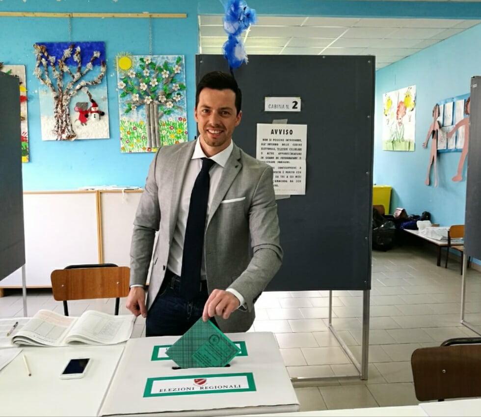 Elezioni Regionali: il voto del candidato presidente del M5S