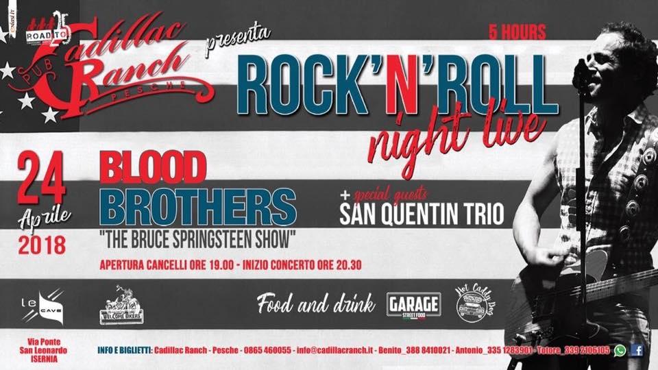 EVENTI – Rock, a 'Le Cave' torna il Bruce Springsteen live show