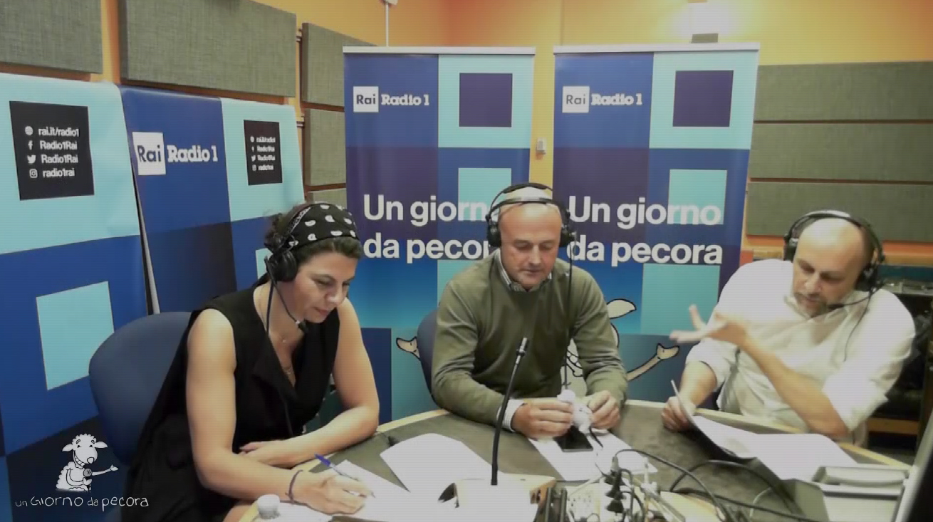 """Toma a Rai Radio1: """"A casa mia i cessi li pulisco io"""""""
