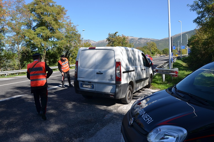 Finge il furto del proprio furgone, scoperto e denunciato dai Carabinieri