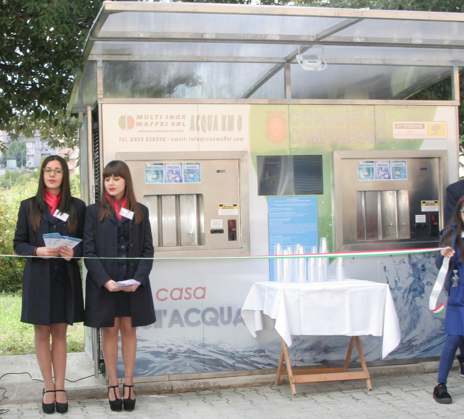 'Casa dell'Acqua', nuova apertura in via Benedetto Croce
