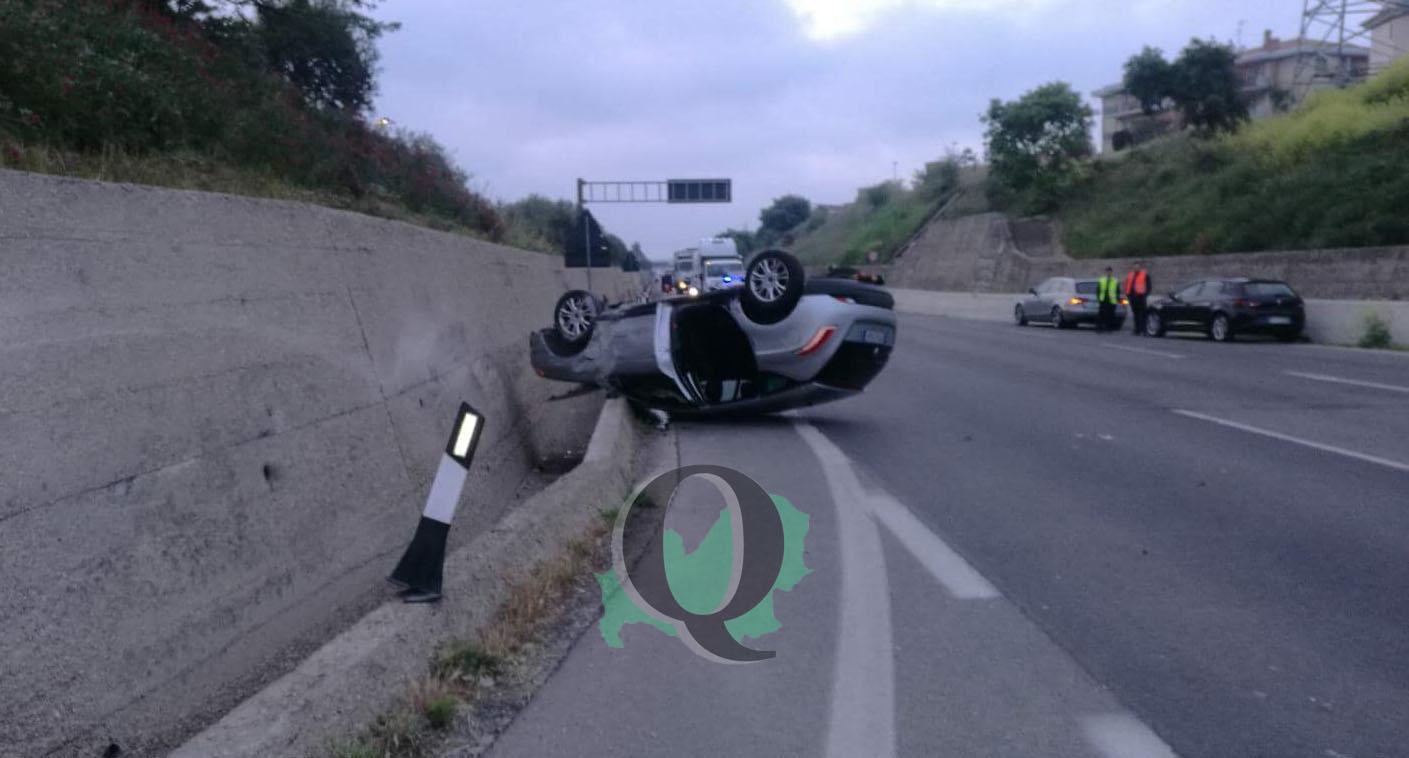 Incidente in tangenziale a Termoli, un ferito in ospedale