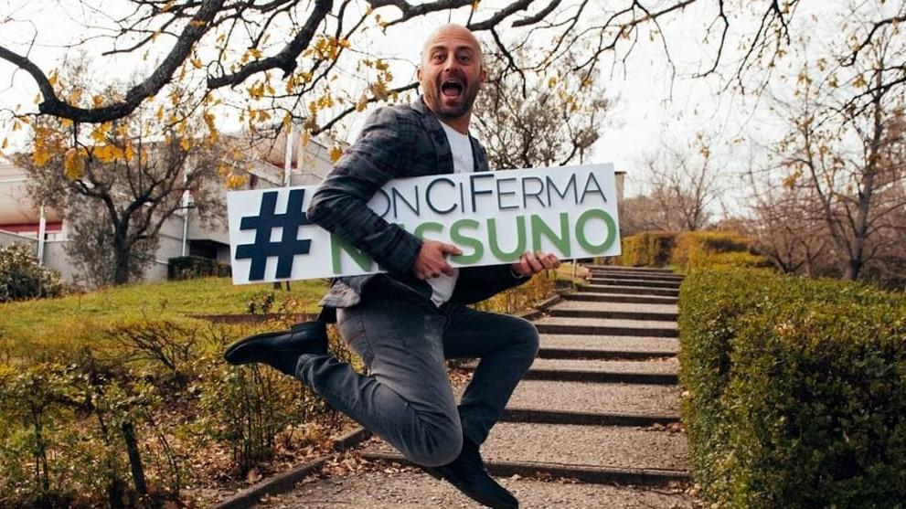 """Luca Abete all'Unimol con il tour motivazionale """"#NonCiFermaNessuno2018"""""""