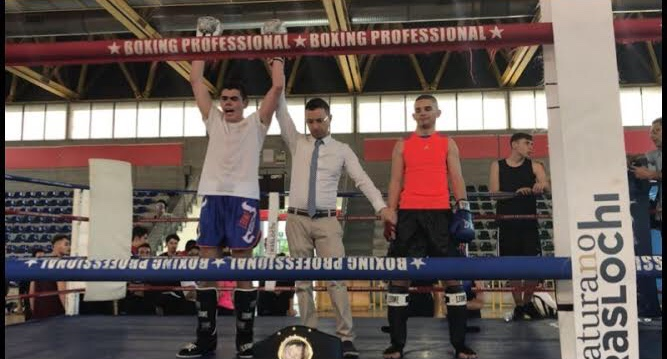 Kick Boxing – Alessandro Cerio Campione Italiano Union Fight K-1 Rules Light