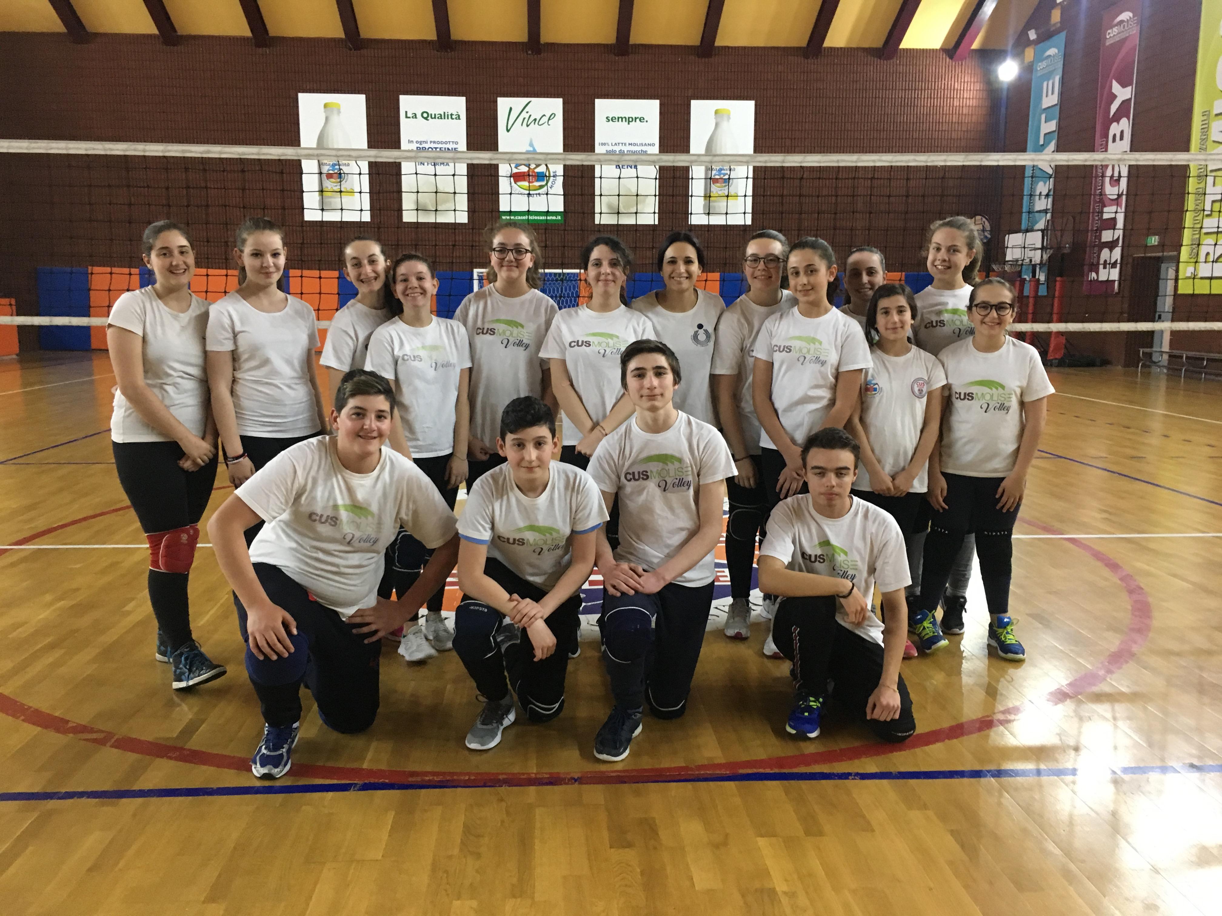 Volley, Cus Molise doppia amichevole con l'Asd Pallavolo Riccia