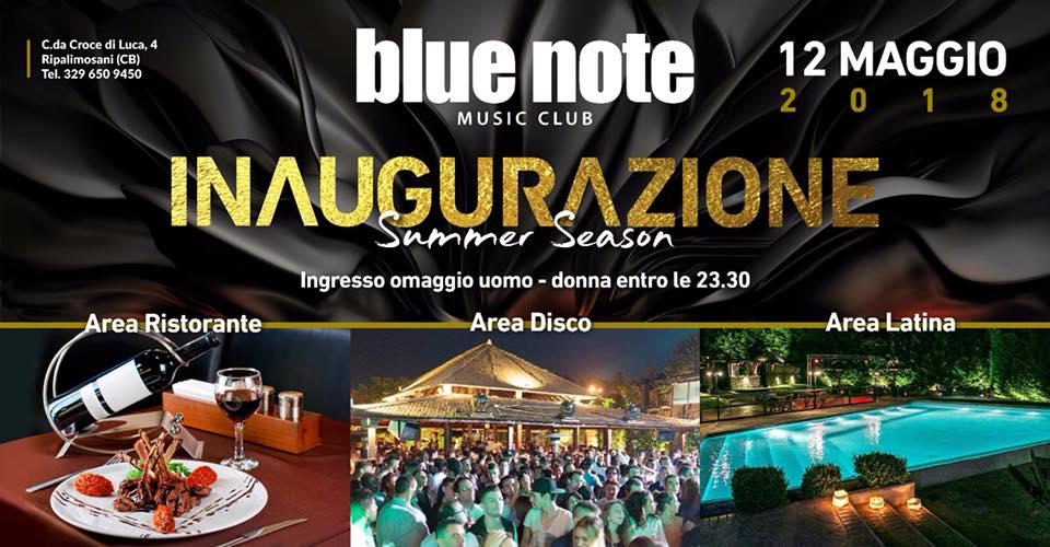 EVENTI – Blue Note, sabato inaugurazione Summer 2018