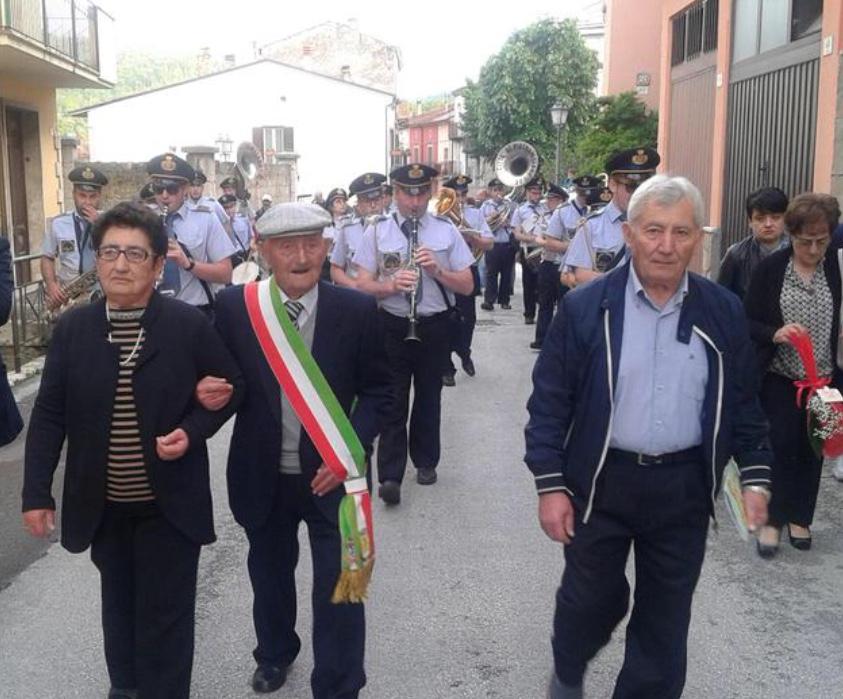 105 anni di Tobia Francesco Petta, l'uomo più longevo della provincia di Isernia