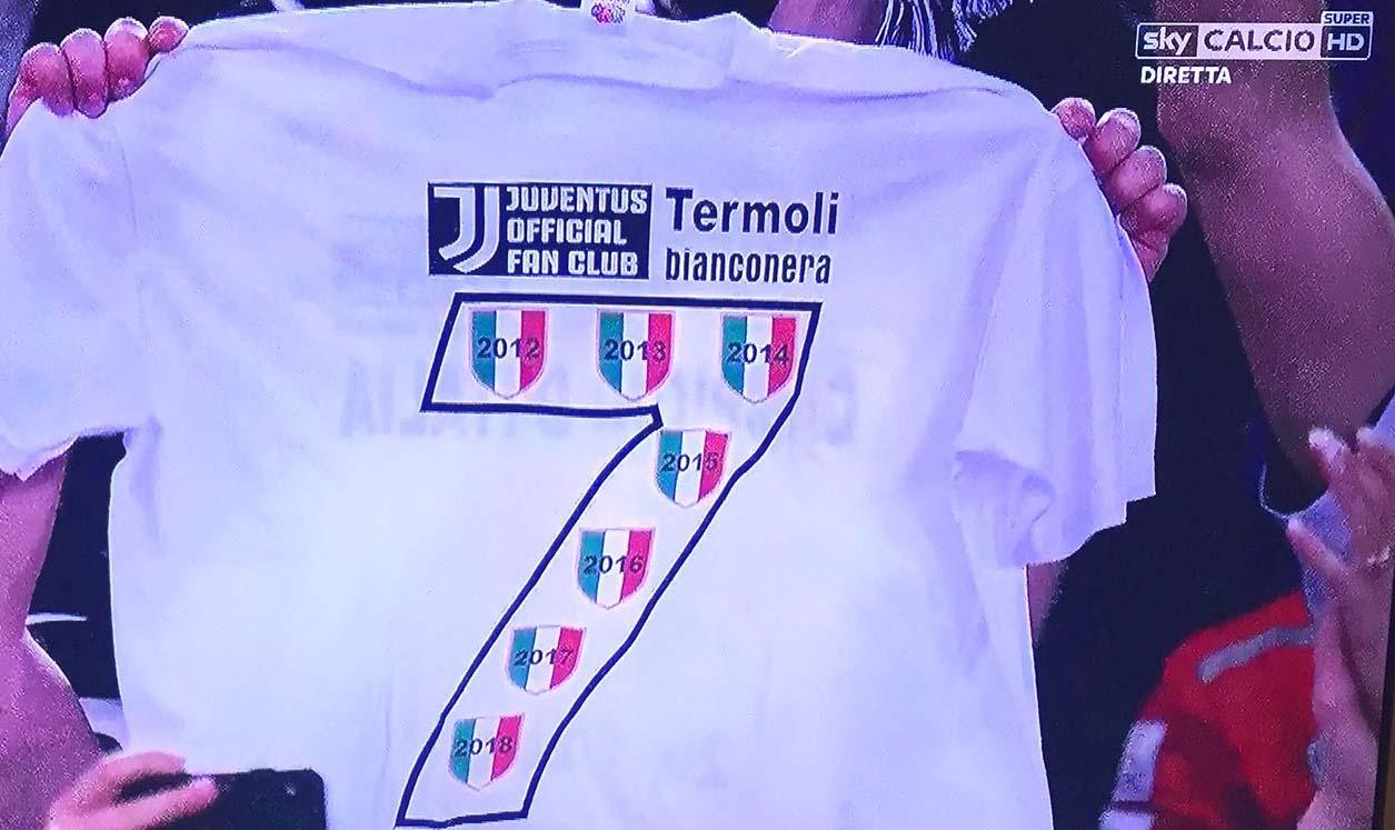 Juventus tricolore, Termoli Bianconera all'Olimpico