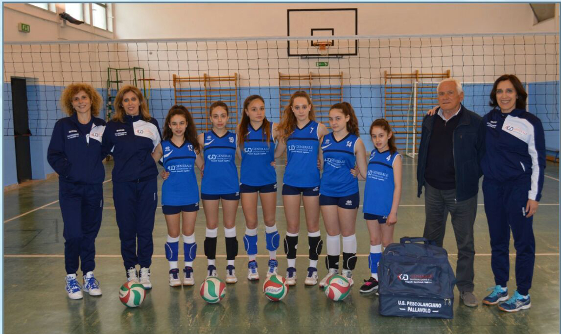 Campionati Giovanili Volley femminile, l'Usd Pescolanciano accede alle finali