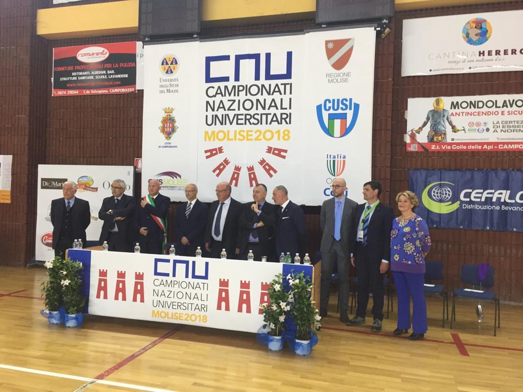 Al via i Campionati Nazionali Universitari, la cerimonia inaugurale (FOTO, VIDEO E INTERVISTE)