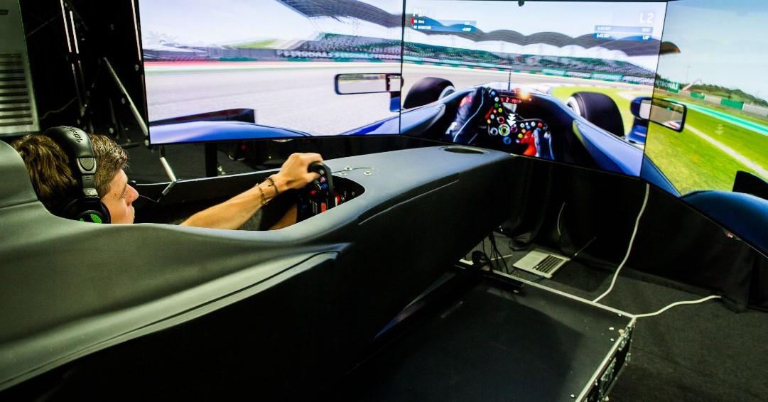 Formula 1, arriva in città il simulatore per provare il brivido della monoposto