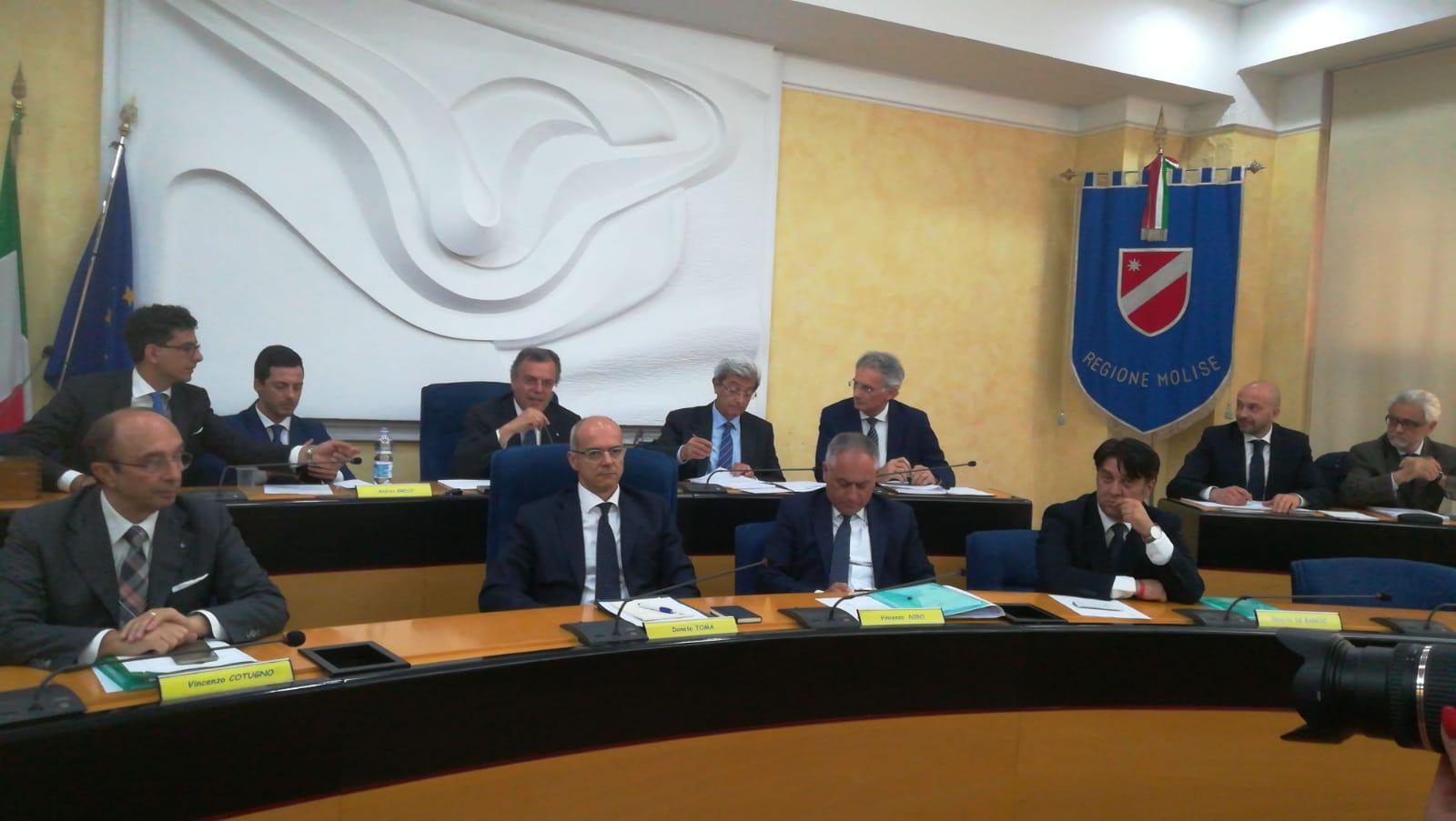 Si è insediato il nuovo Consiglio regionale