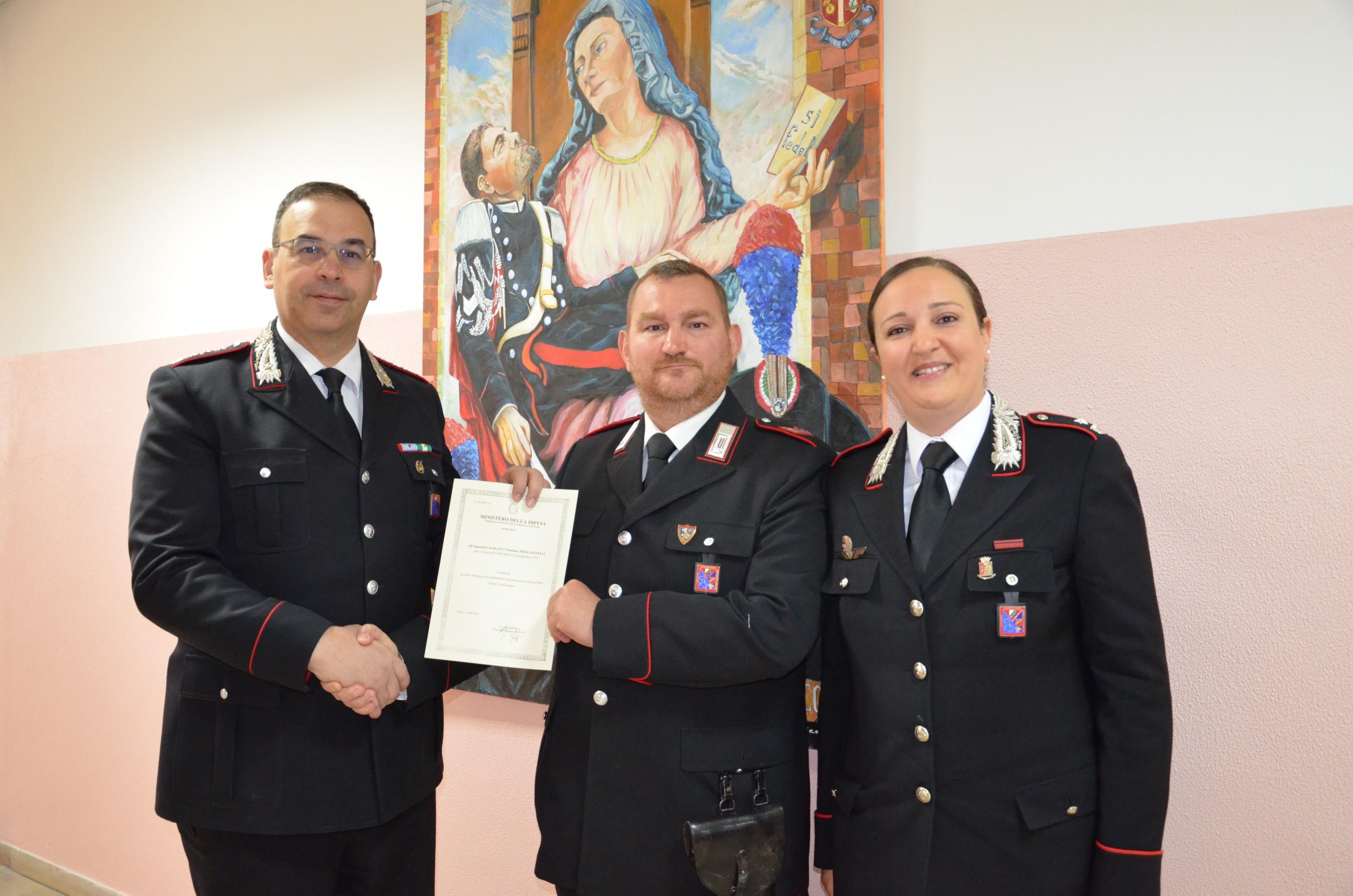 Qualità professionali, militari e morali. Il Ministero omaggia i migliori dell'Arma