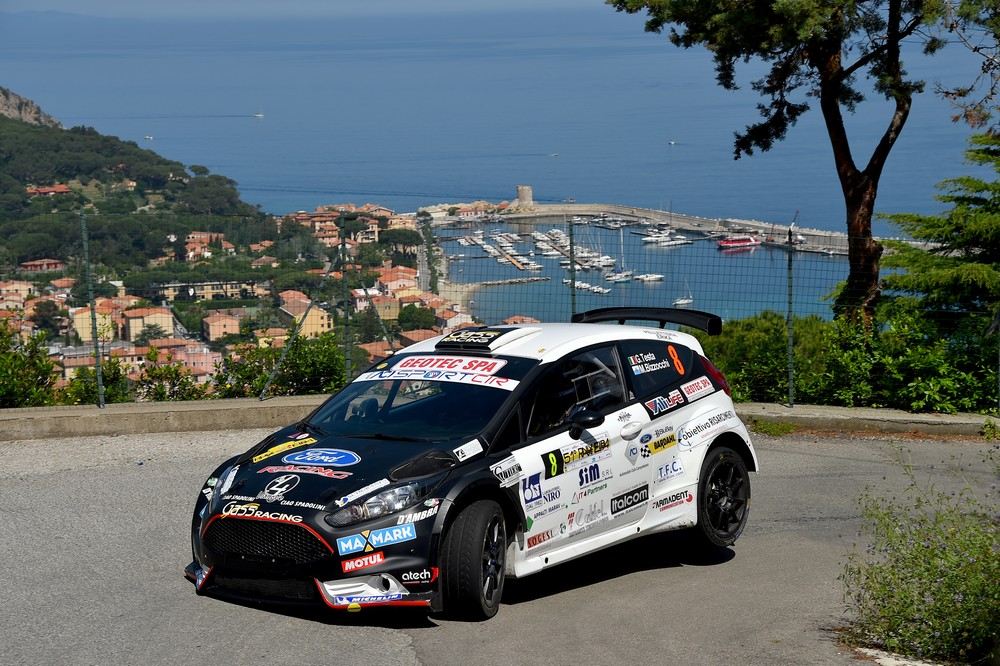 Rally Isola d'Elba, quinto posto per il driver molisano Giuseppe Testa