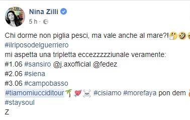 """Nina Zilli e il concertone a Campobasso nella sua 'tripletta eccezzziunale veramente"""""""