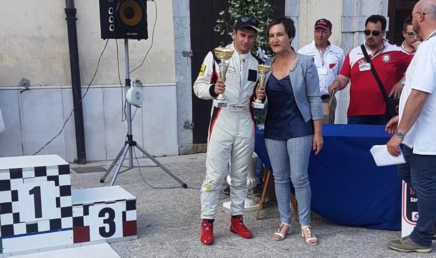 Il giovane driver Gianluigi Petrone incanta all'11esimo Slalom della Laura