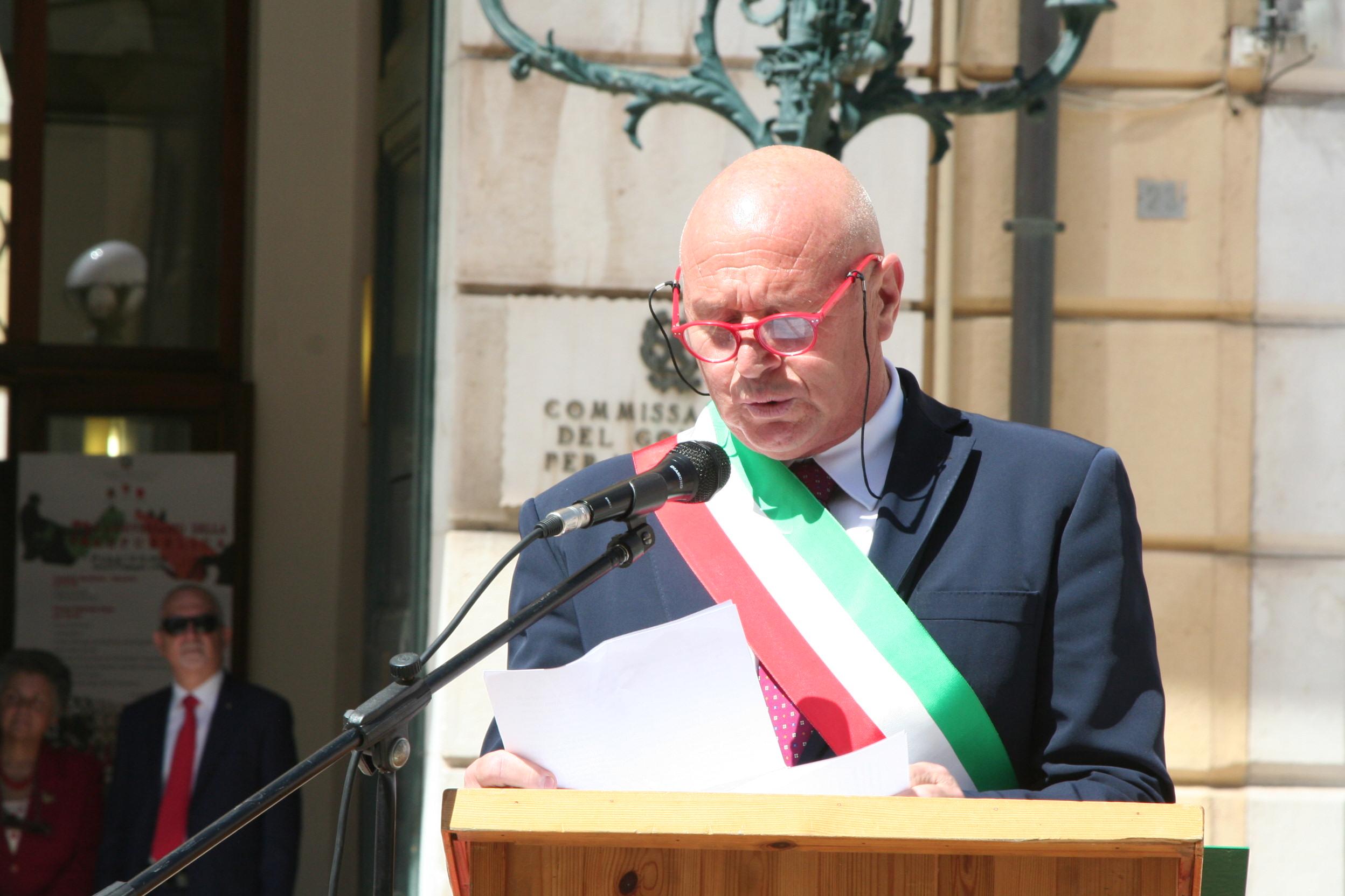 Festa della Repubblica, il messaggio del sindaco Battista