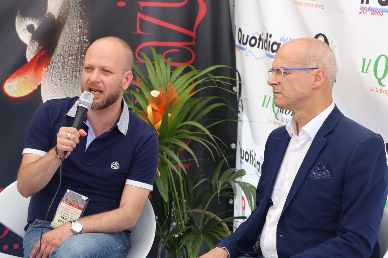 Esportare i Misteri fuori dall'Italia, ne abbiamo parlato con Toma, Battista e Colagiovanni (VIDEO INTERVISTE)
