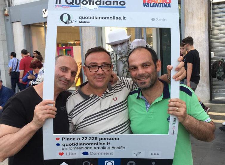 Tutti pazzi per i selfie de 'Il Quotidiano del Molise' (FOTO)