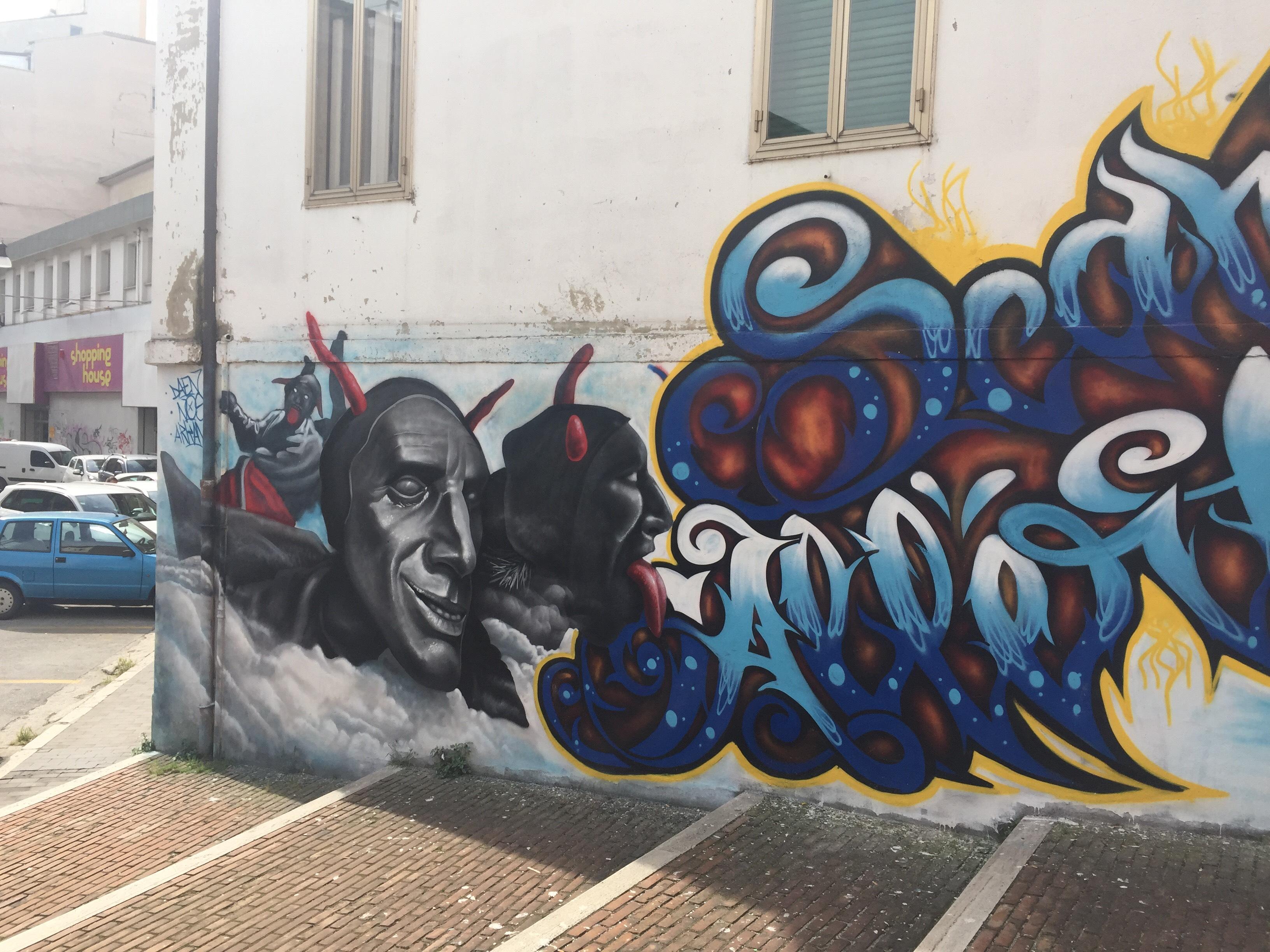 Murales dei Misteri, ancora un'opera d'arte sui muri della città