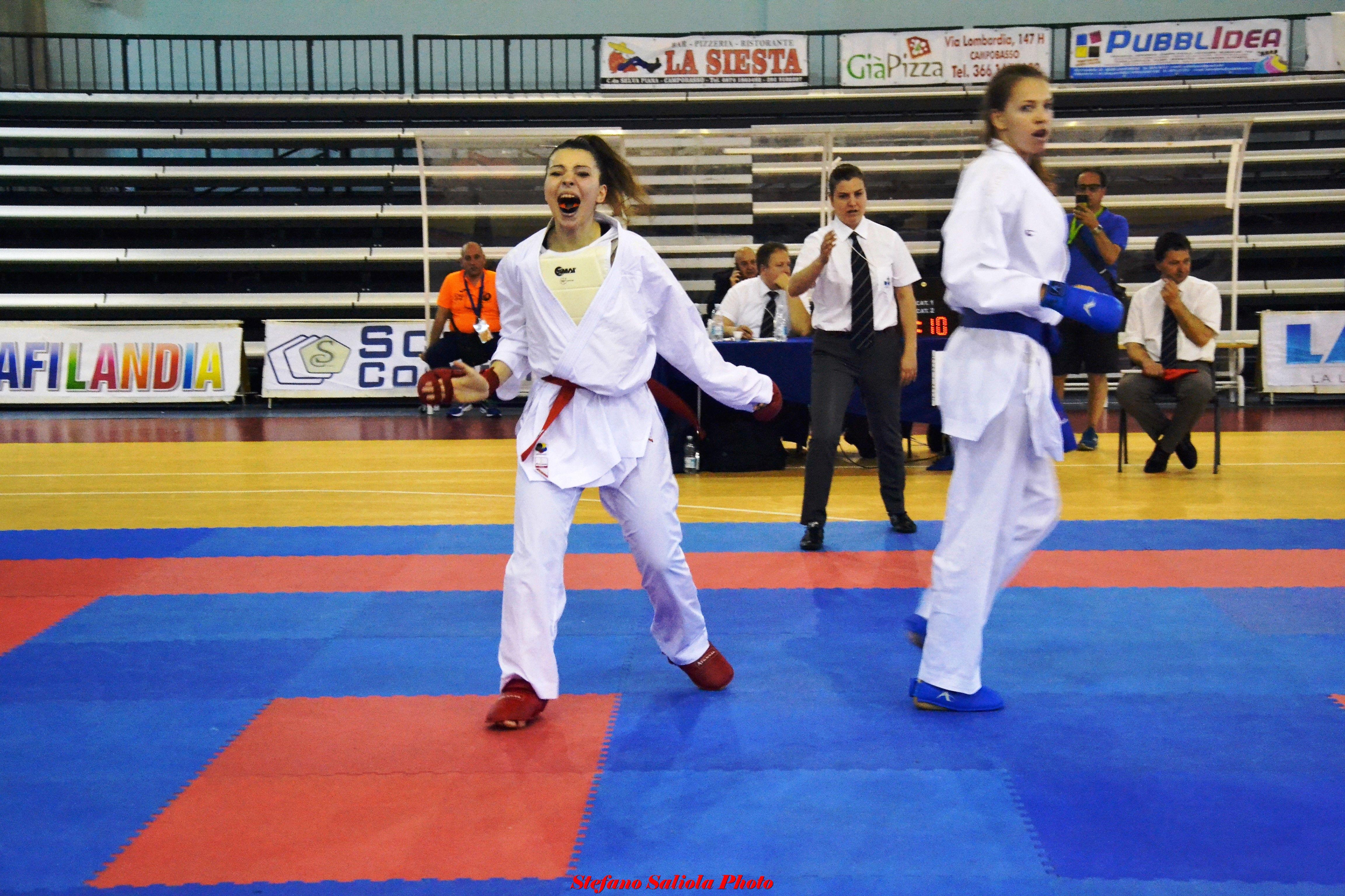Karate, Lisa Sandonnini convocata in azzurro