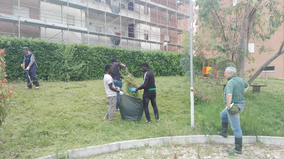 Nuovo intervento di 'guerrilla gardening' di Fare Verde al Parco Ungaretti
