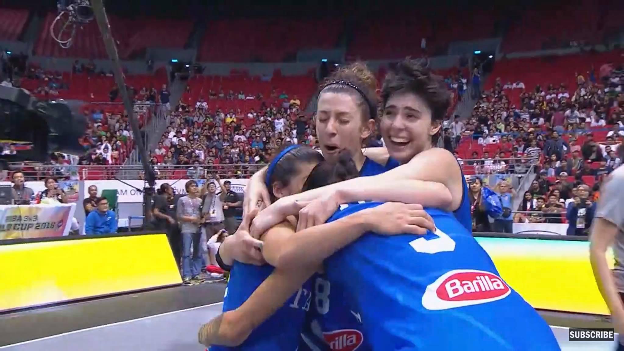 Basket 3×3, Italia Campione del Mondo: tra le cestiste Giulia Ciavarella della Magnolia