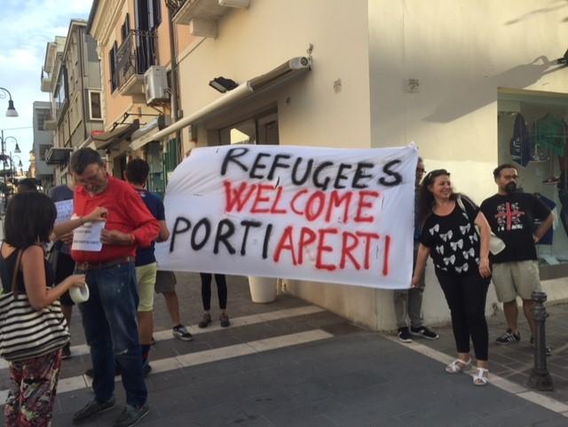 Caso Aquarius, da Termoli parte il coro per l'accoglienza migranti (FOTO)