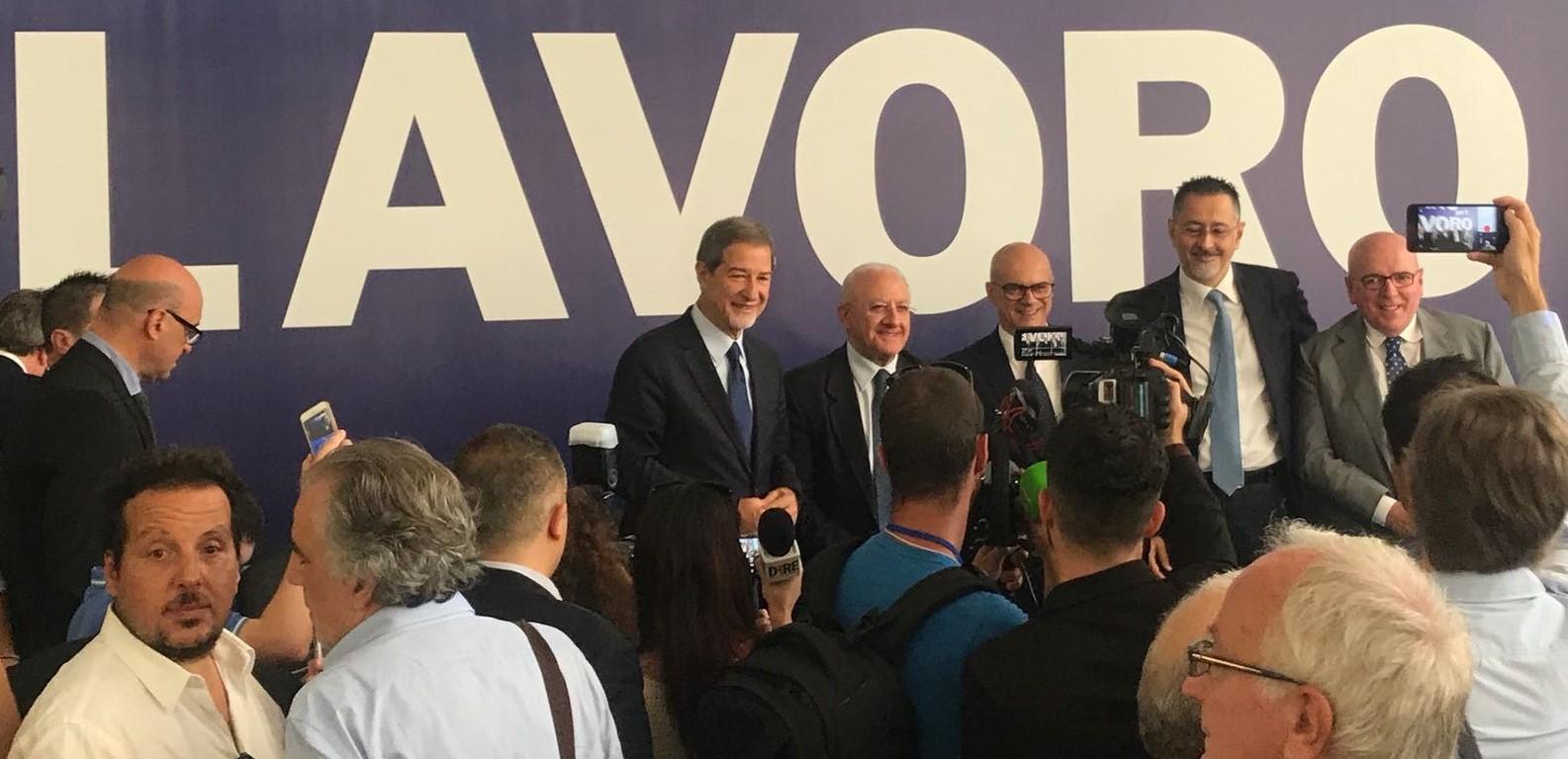 Toma a Napoli lancia la proposta del Consiglio dei presidenti delle regioni meridionali
