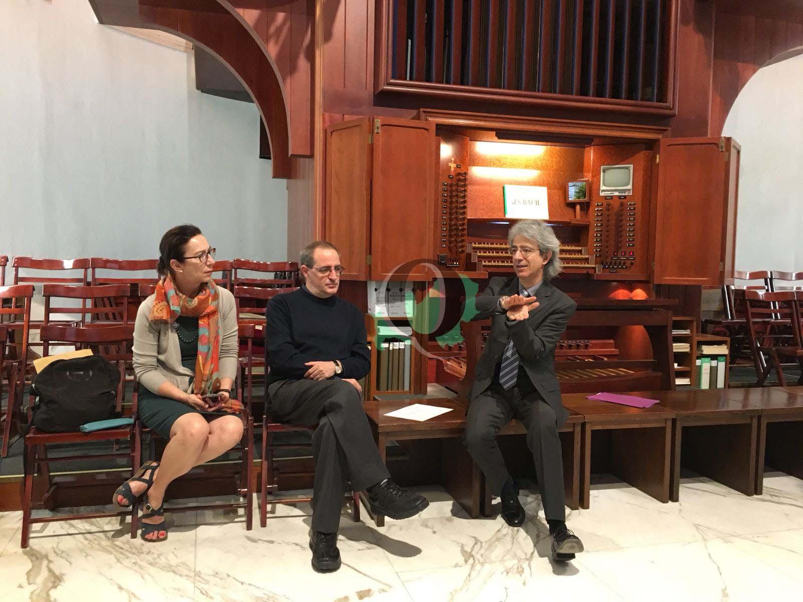 Cattedrale di Campobasso: presentati eventi per celebrare i 25 anni dell'organo (VIDEO INTERVISTA)