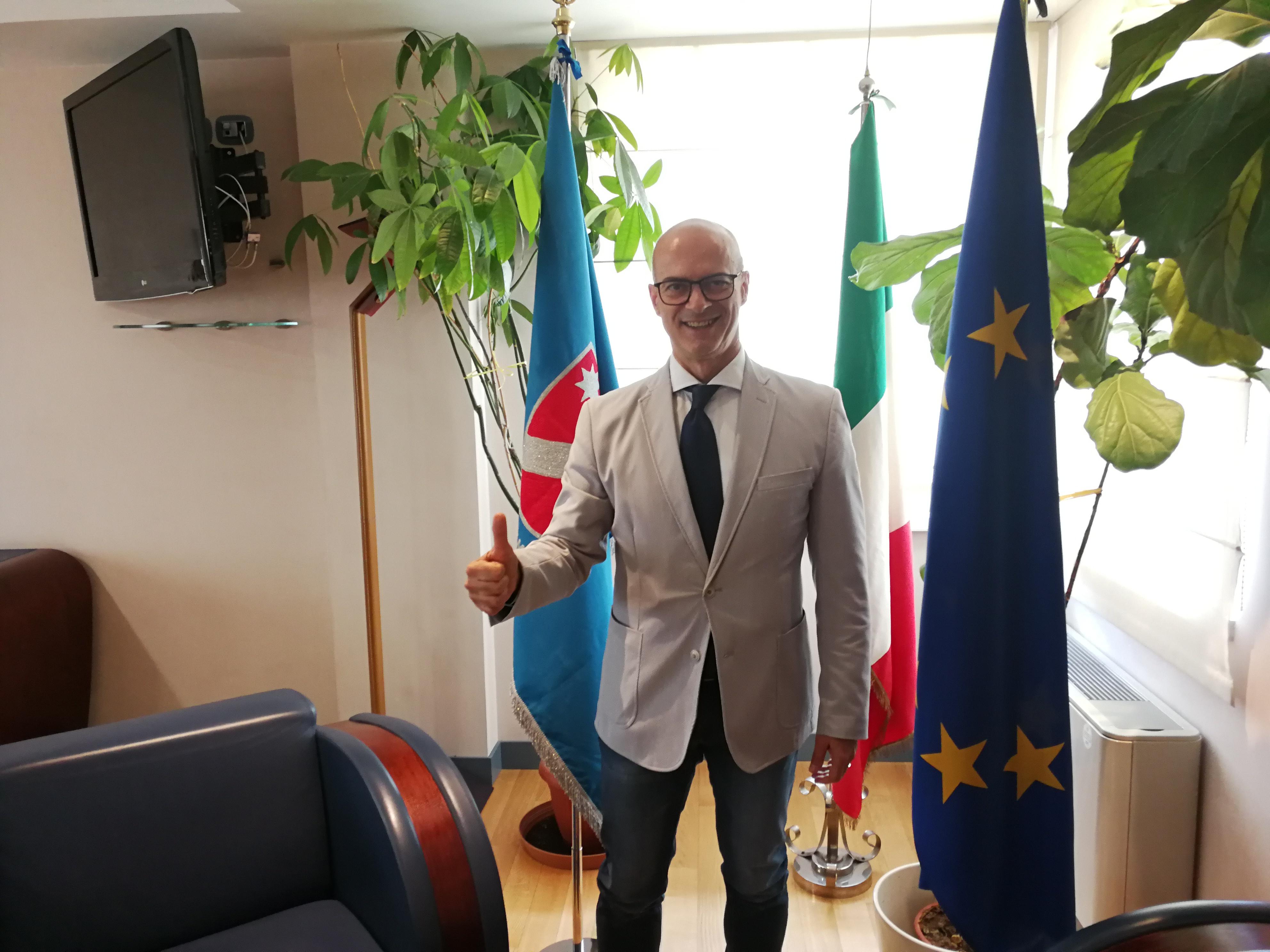 """Missione istituzionale a Bruxelles, Toma: """"Intercettare fondi europei"""""""