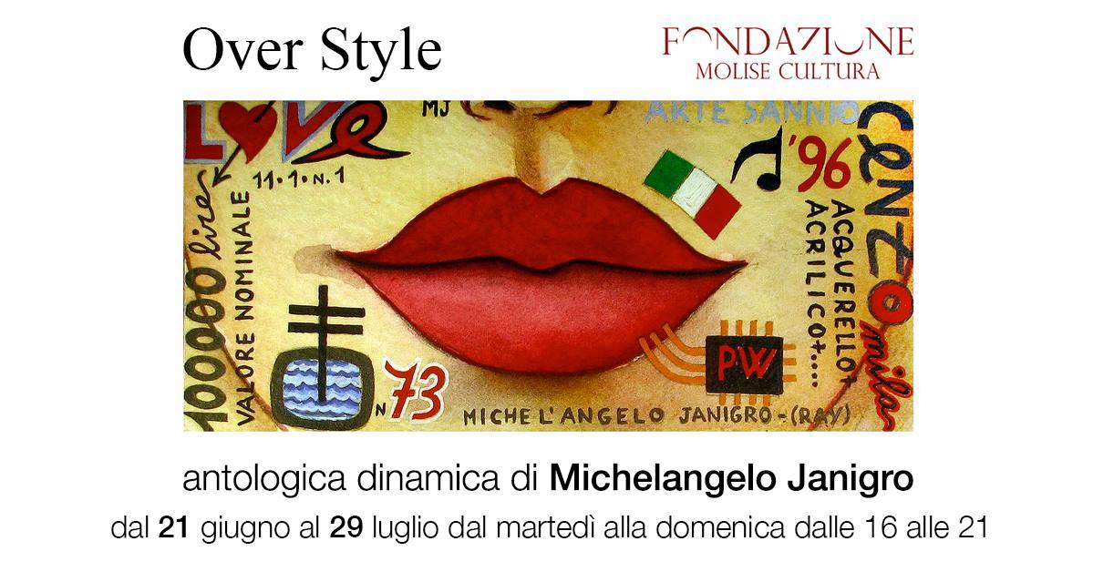 ARTE – Michelangelo Janigro, Over Style in mostra