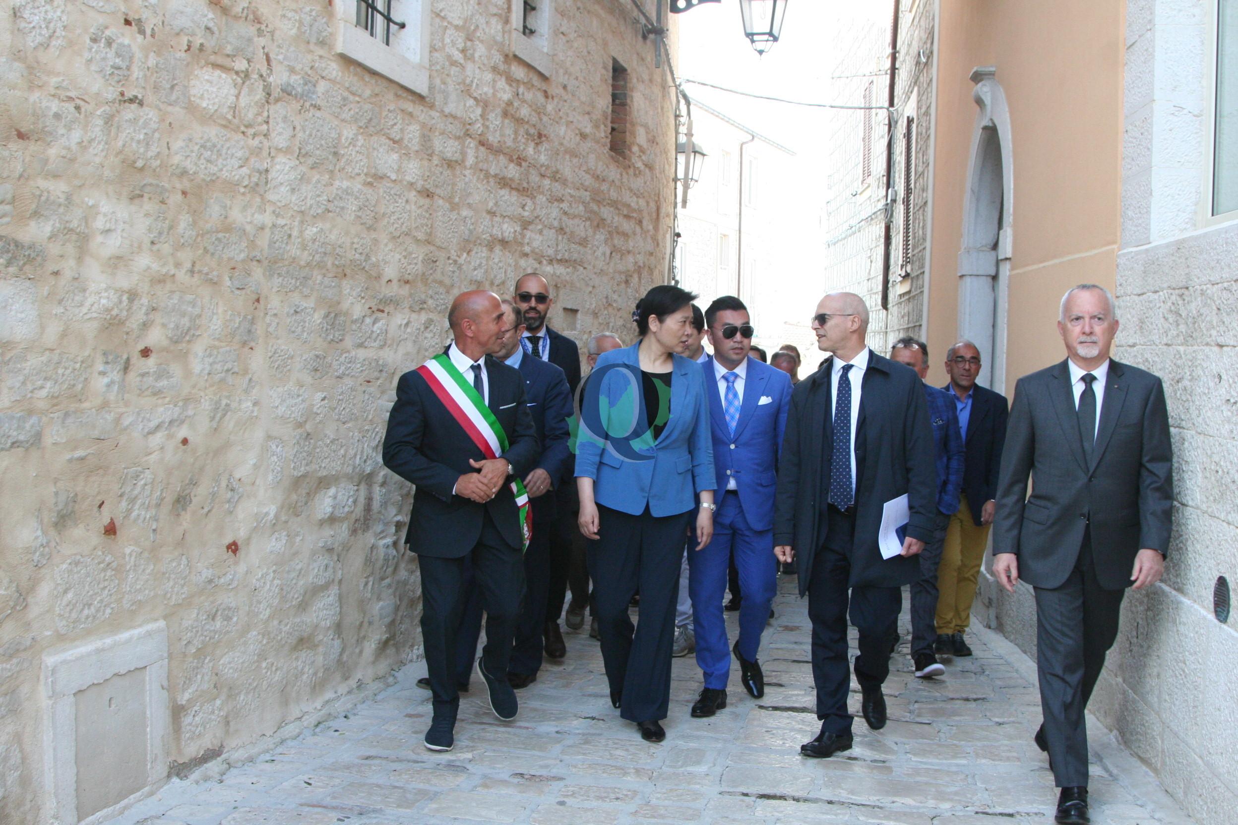 La delegazione cinese dell'Hubei visita Ferrazzano